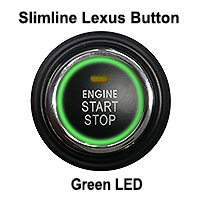 Slimline Lexus Btn- GREEN