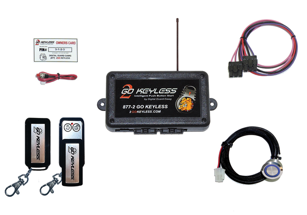 Automotive Keyless Ignition Kits - Digital Guard Dawg