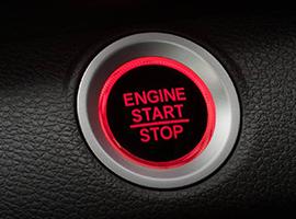 Honda Civic Btn Red in DASH S