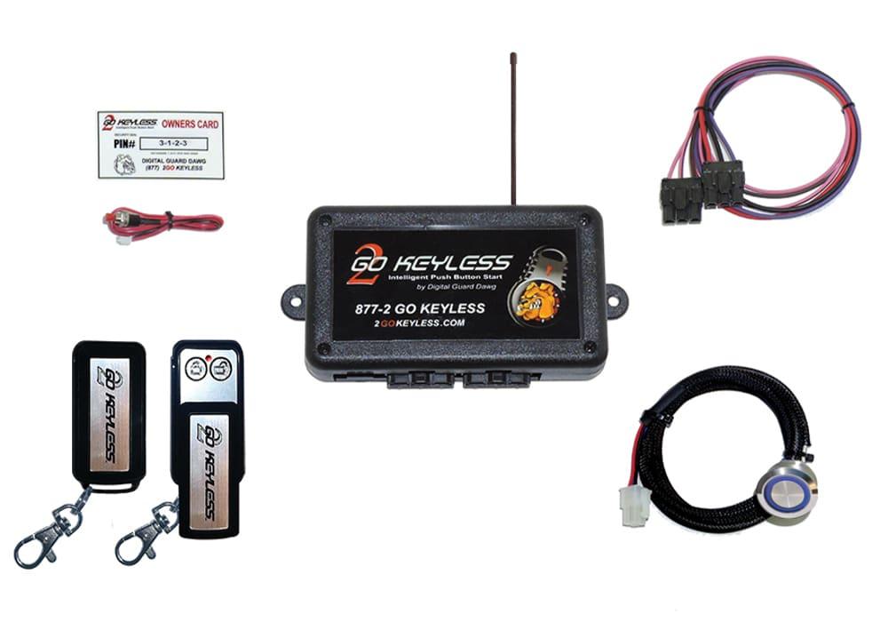 Automotive Keyless Ignition Kits - Digital Guard Dawg