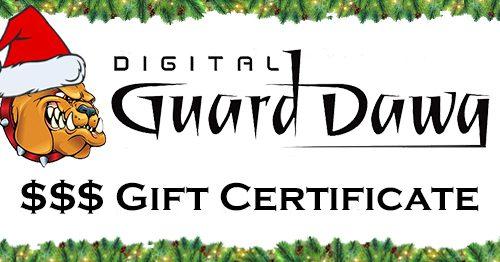 X-Mas Gift Certificate