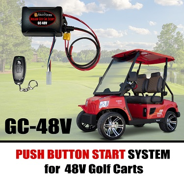 Keyless Ignition for 48V Golf Carts