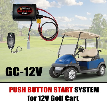Push Button Start For Golf Carts