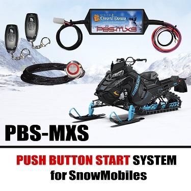 Keyless Snowmobile